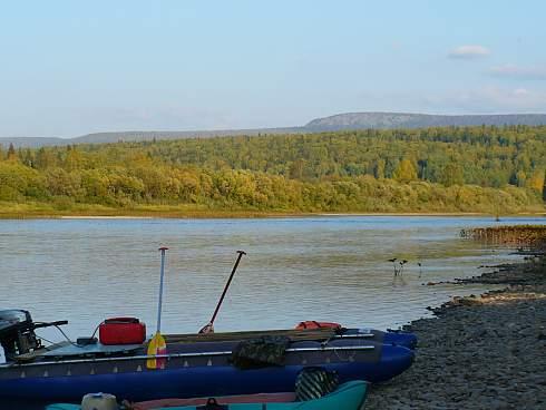 Фотоотчет о рыбалке на реке Велс, Северный Урал