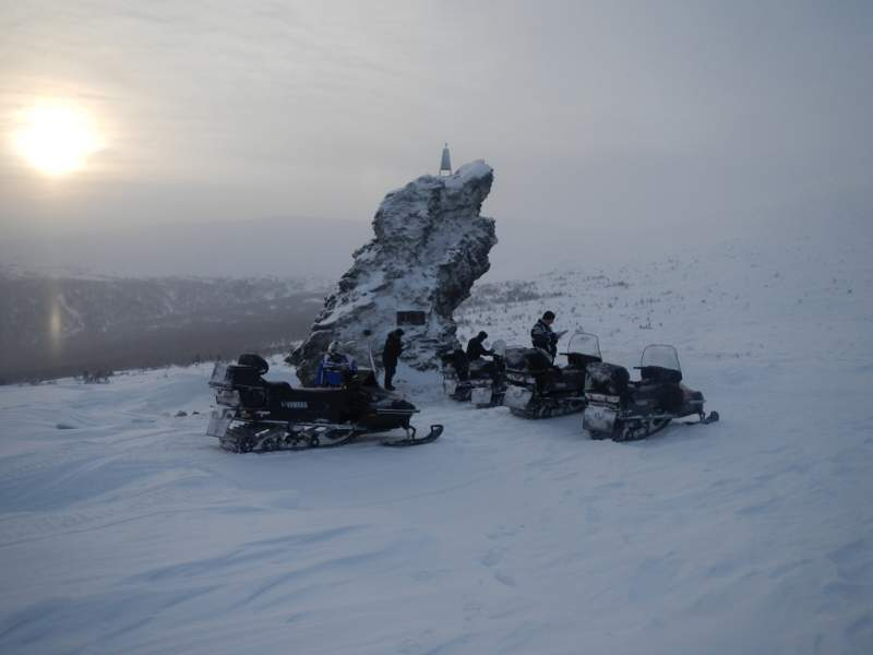 красновишерск пермский край снегоходный тур